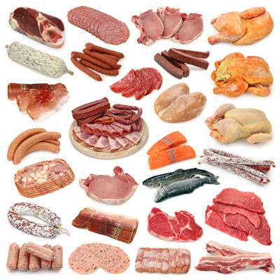 گوشت و مواد پروتئینی