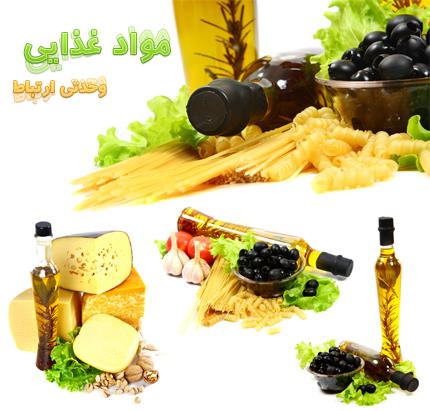 تصاویر با کیفیت مواد غذایی
