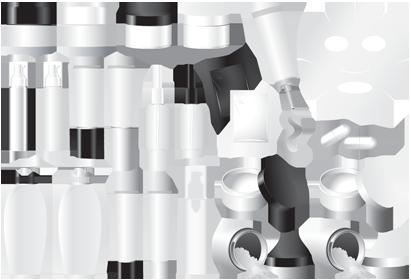 لوازم آرایشی و بهداشتی / Cosmetics Vector