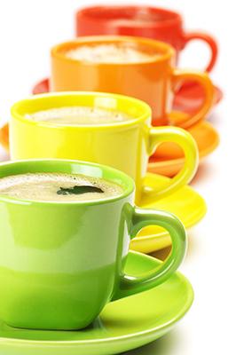 فنجانهای رنگی / Color Cups