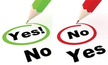 انتخاب آره یا نه ؟!! / Choice of Yes or No