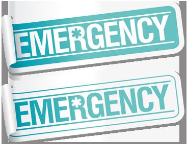 برچسب اضطراری / Emergency Sticker