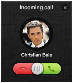 تماس دریافتی / Incoming Call