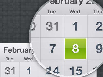 تقویم میلادی iOS