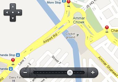 نقشه و ابزار کنترل آن ( Map Controls )