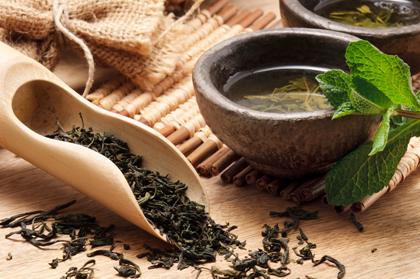 چای آسیایی با چای سبز خشک / Asian Tea With Dried Green Tea
