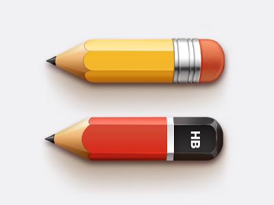 مدادها / Pencils