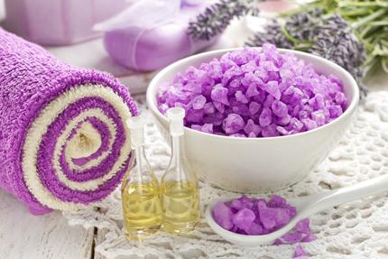 سنگهای درمانی بنفش / Violet Spa