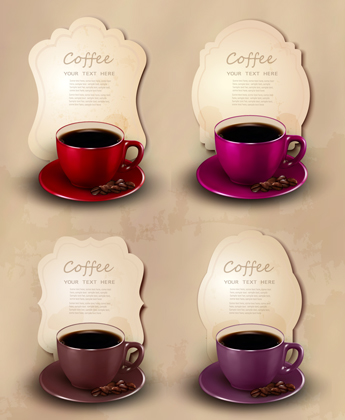 فنجان‌های رنگی / Color Cups