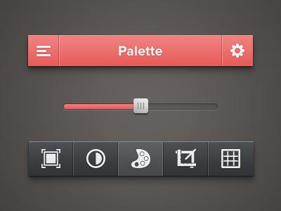 رابط کاربری ابزار تصویر / Photo Tool UI