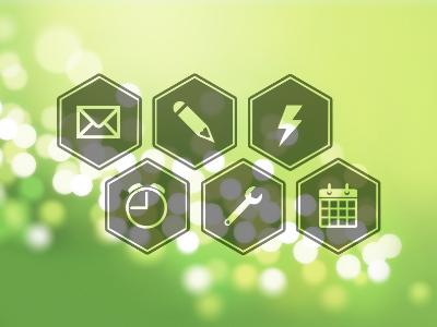آیکونهای شش ضلعی / Hex Icons
