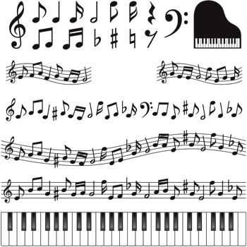 نتهای موسیقی / Music Keys