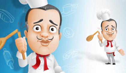 آشپز فرانسوی / French Chef