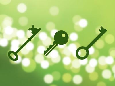 آیکونهای کلید / Key Icons