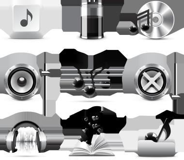 آیکونهای موزیک / Music Icons