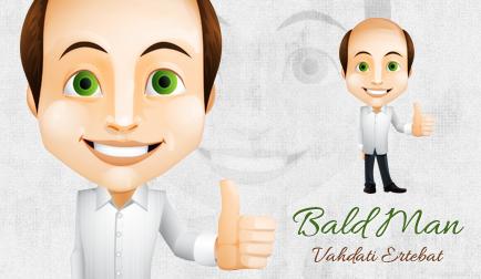 مرد کچل / Bald Man