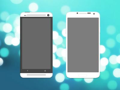 گوشیهای هوشمند HTC One و Galaxy S4