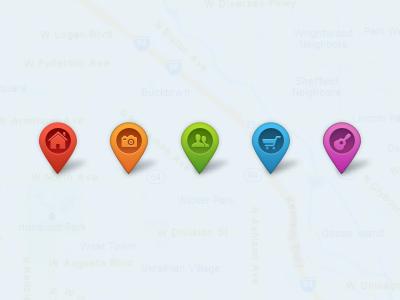 اشاره گرهای نقشه / Map Pointers