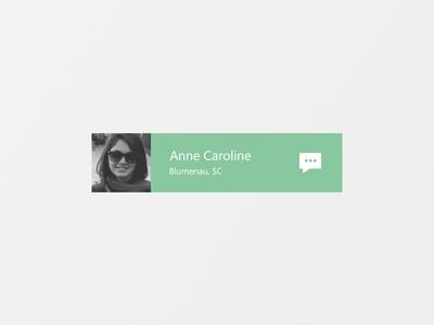 ابزارک پیام / Message Widget
