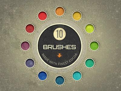 براشهای نقطه نقطه / Speckle Brushes