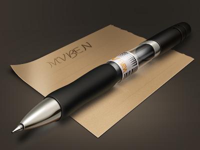 خودکار و کاغذ یادداشت / Pen & Note