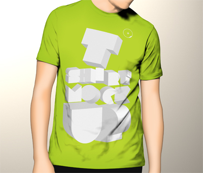 پیکرنمای تیشرت / T-Shirt Mockup
