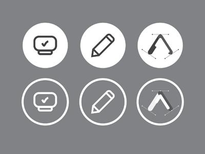 آیکونهای طراحی وب / Webdesign Icons