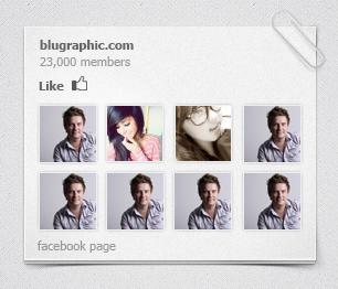 ابزارک فیسبوک / Facebook Widget