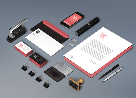 Identity Branding Mockup By GraphicBurger
