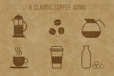 آیکونهای قهوه / Coffee Icons