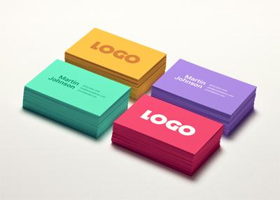 کارت ویزیت رنگارنگ / Colorful Business Card