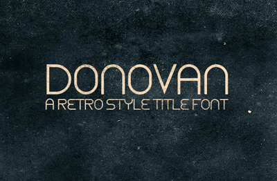 Donovan By WeGraphics