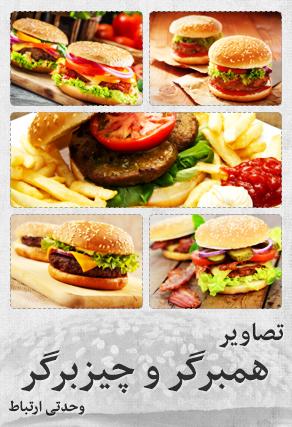 همبرگر و چیزبرگر / Hamburger & Cheeseburger