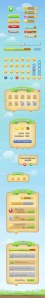رابط کاربری بازی موبایل / Mobile Game GUI