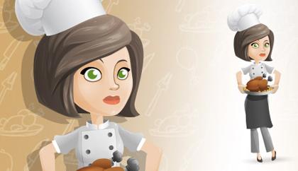 آشپز زن / Woman Chef