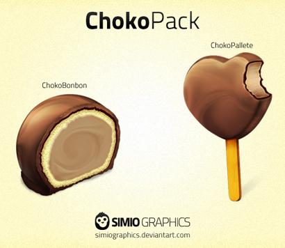 آیکونهای ChokoPack
