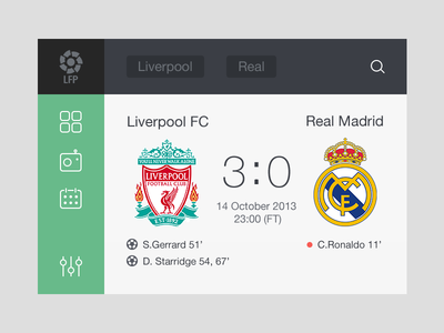 ابزارک بازی فوتبال / Soccer Widget
