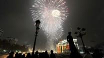 جشن سال نو میلادی - اسکوپیه ( مقدونیه )