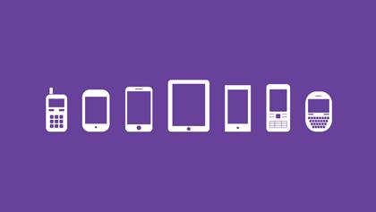 آیکونهای موبایل / Mobile Icons