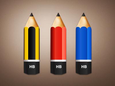 آیکونهای مداد / Pencil Icons