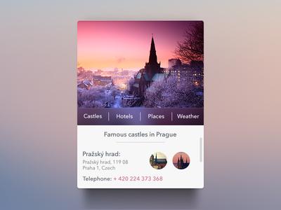 ابزارک پراگ / Prague Widget