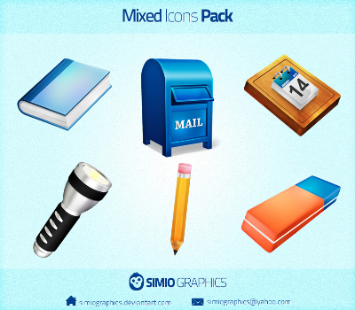 آیکونهای مخلوط / Mixed Icons