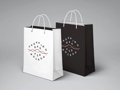 ساک خرید در دو رنگ