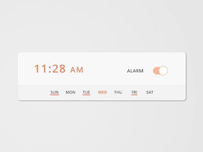 ساعت زنگدار / Alarm Clock