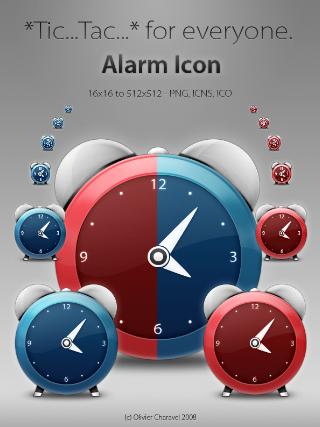 آیکون ساعت زنگدار / Alarm Icon