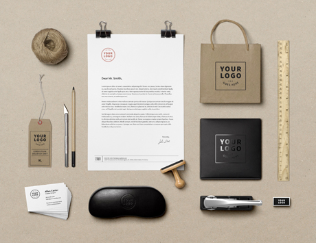 Branding Identity MockUp By GraphicBurger