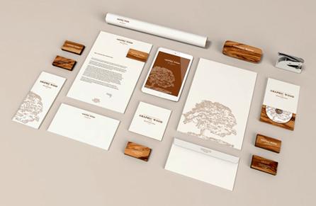 Branding Identity MockUp By Qeaql