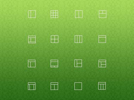آیکونهای چیدمان / Layout Icons