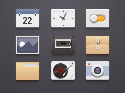 آیکونهای کوچک / Small Icons