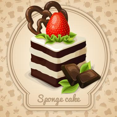 کیک اسفنجی / Sponge Cake